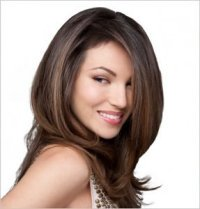 hair color with shine