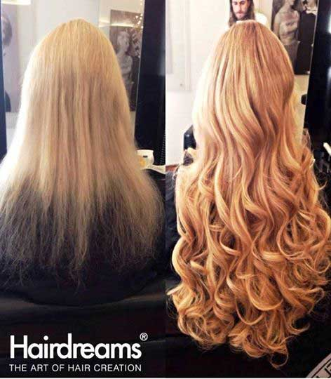 Hair extensions before after pictures at monaco hair - Hair salon extensions ...