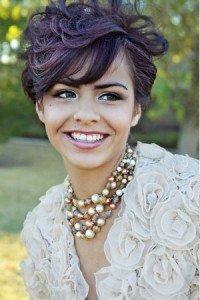 Short bridal hairstyle Monaco Salon Tampa