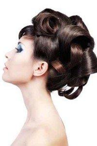 Medium length bridal hairstyle, Monaco Salon Tampa