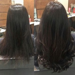 Hair Extensions - Before & After
