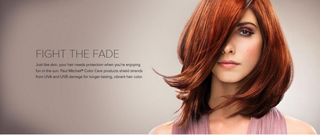 red hair Monaco hair salon in tampa