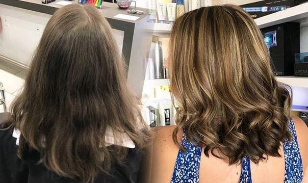 medium length hairstyle monaco salon tampa