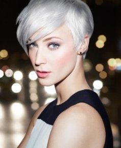 Short Blonde Hairstyle Monaco Salon Tampa
