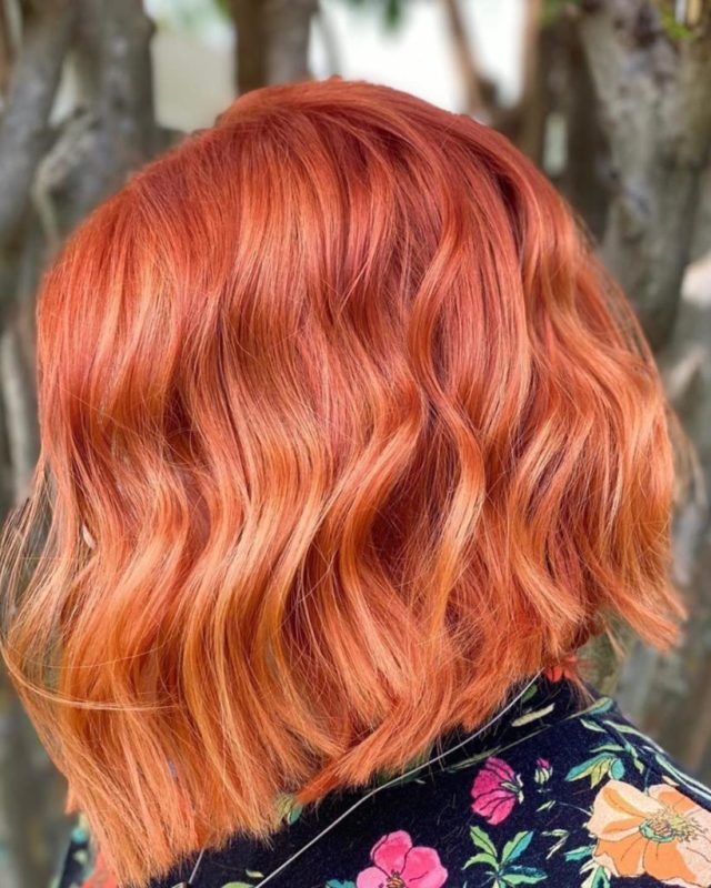 red hair color Monaco Hair Salon Tampa St Pete