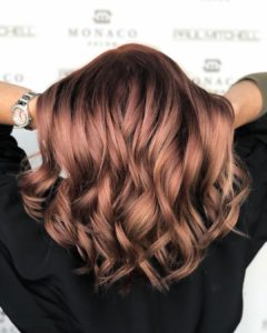 subtle hints of red hair color monaco tampa