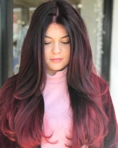 red hair ombre monaco tampa