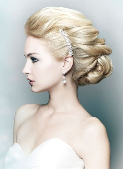 Wedding Hairstyles for Brides and Grooms
