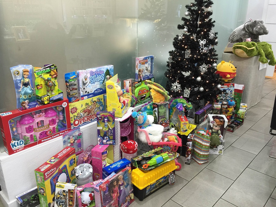 Monaco Salon Toy Drive