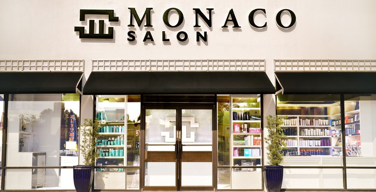 Monaco salon tampa hair color hair extensions contact for Address beauty salon