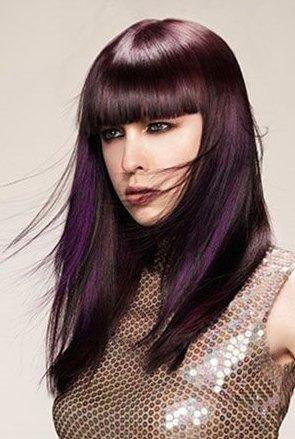 Hair Color Trend: Oil Slick