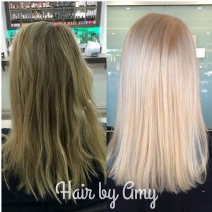 Blonde hair by Amy Monaco Salon Tampa