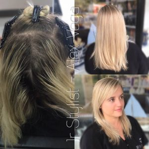 color correction by alex Monaco Salon Tampa
