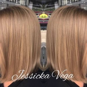 haircut by jessica Monaco Salon Tampa