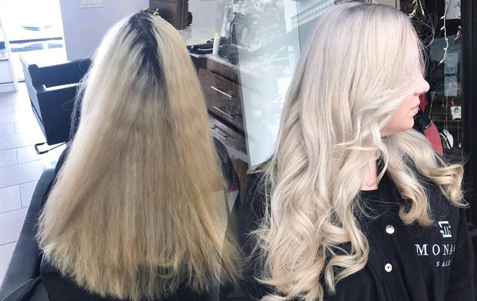 Blonding and Blonde Hair