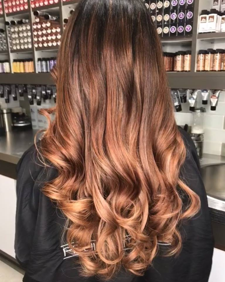 Balayage, Hand Painting Hair Color Monaco Salon Tampa