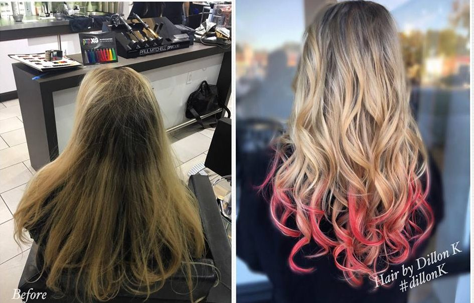 ombre hair makeover tampa monaco salon