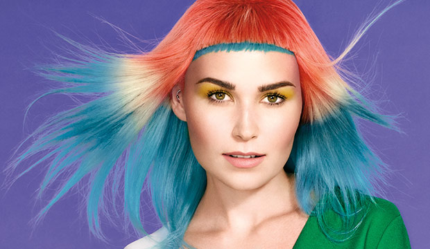 Bold Fantasy Hair Color
