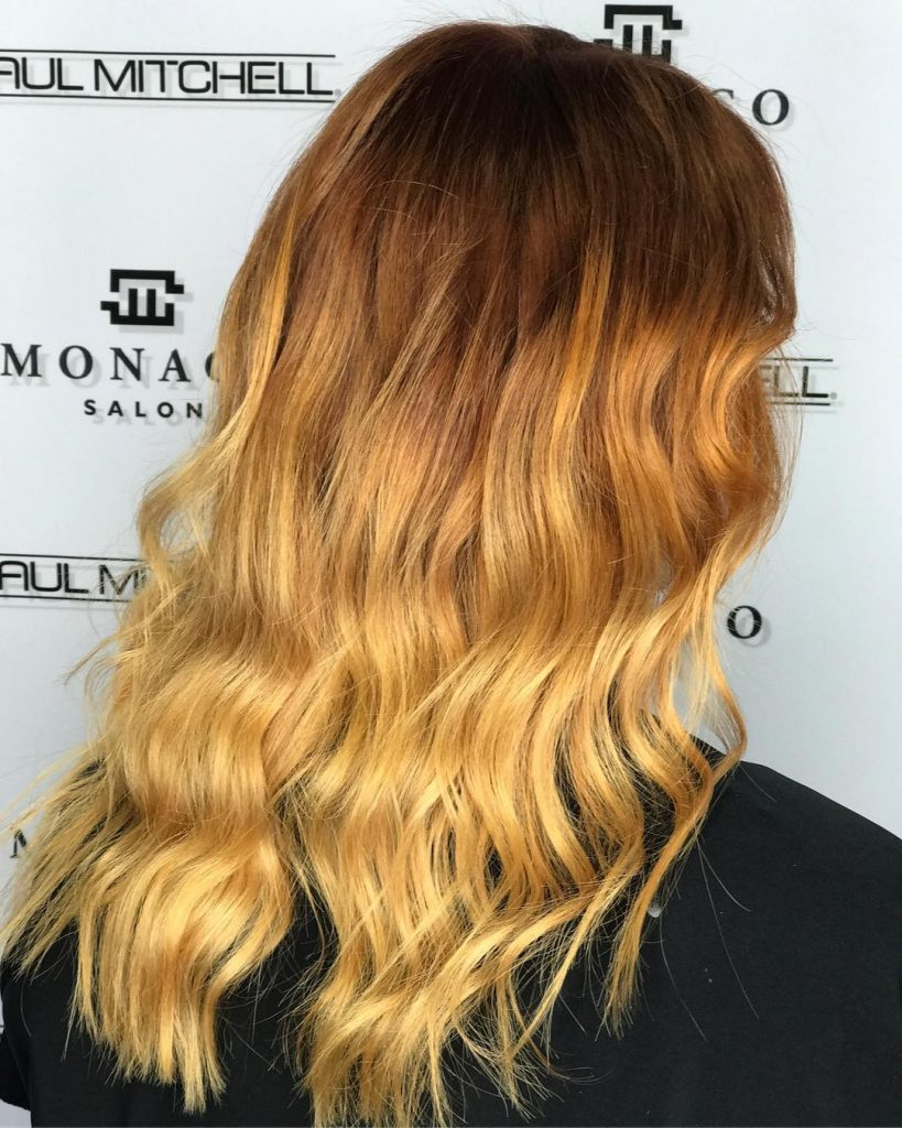 Ombre Hair Color Tampa, Color Melt, Dip Dye at Monaco