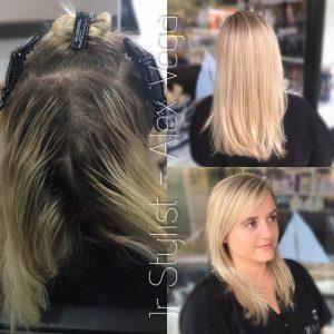 hair color correction, color balance tampa