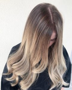blonde balayage tampa