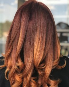 red hair color monaco salon