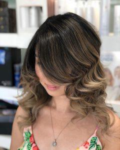 brunette balayage tampa