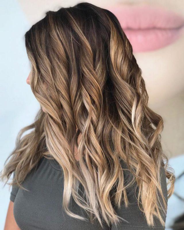 Mocha Latte hair color tampa