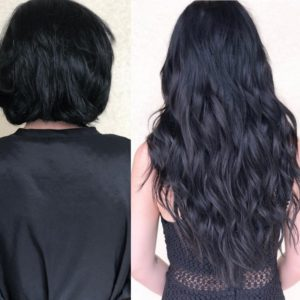 short to long transformation monaco salon tampa