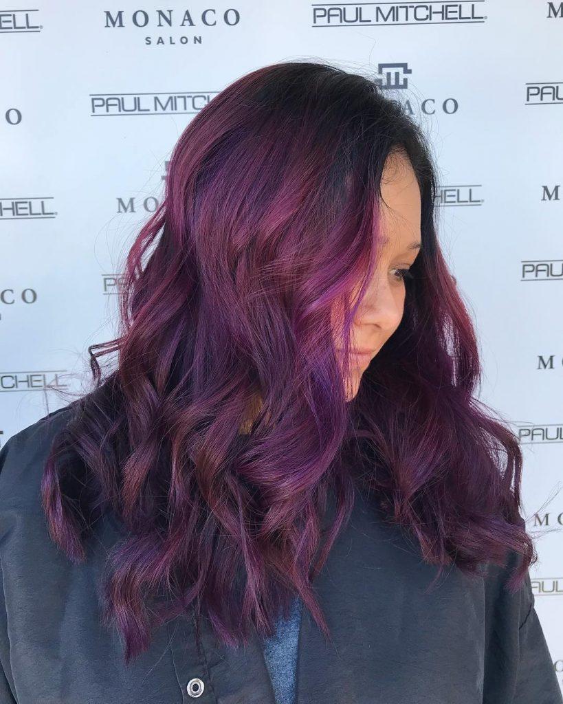 Vivid Fantasy Hair Color Tampa Monaco Salon
