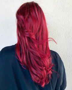 red hair color monaco salon tampa