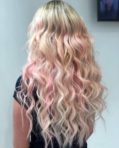 pastel hair with extensions tampa florida