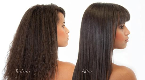Brazilian Blowout Before After