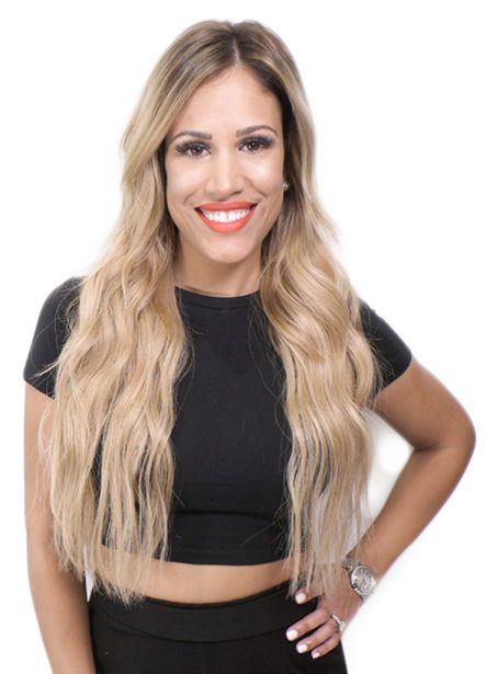 Krista hair extensions master stylist salon tampa