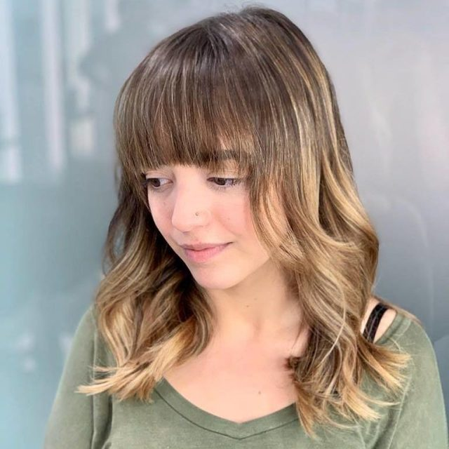 hairstyle with bangs Monaco Salon Tampa