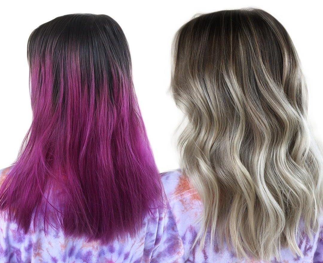 lockdown hair color correction Monaco Salon tampa