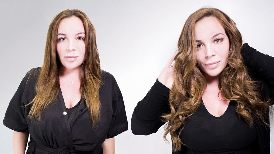 hand tied hair extensions by krista monaco salon tampa