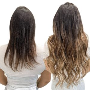 hand tied seamless beaded row extensions tampa