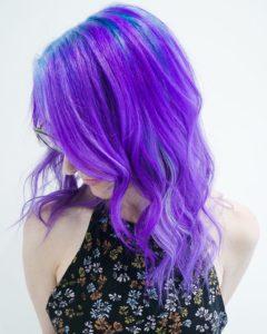 purple hair fashion colors monaco salon tampa