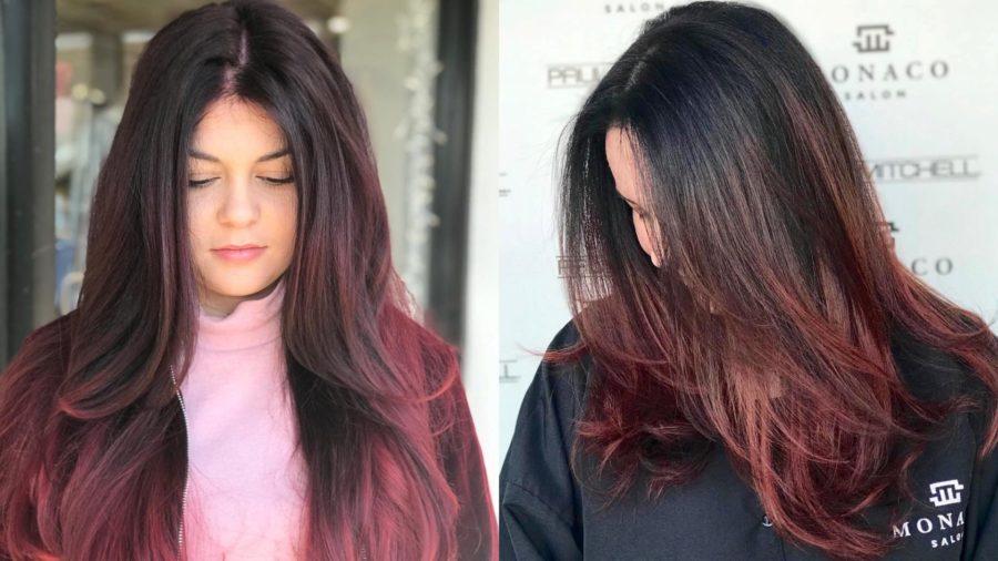ombre hair color monaco salon tampa