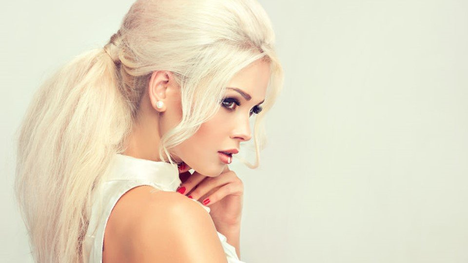Platinum Blonde Hair color salon Monaco Salon in Tampa