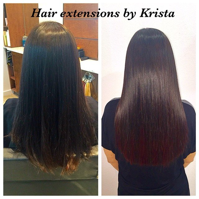 Before And After Pictures Of Our Hair Extensions Clients