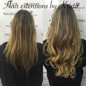 hair extensions by krista tampa