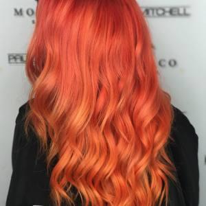 red hair color tampa monaco salon