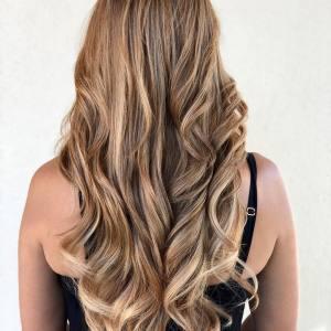honey-blonde-balayage monaco-salon-tampa